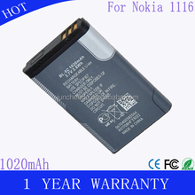 Original Battery BL5C,BL 5C Rechargeable Accessories Replacement For Mobile Phone Nokia 6230 2300 2310 2600 2610 2700