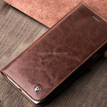 QIALINO Quick Lead Cow Leather Sublimation Case For Samsung A8