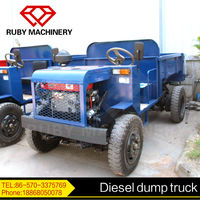 Top quality small diesel mining truck for sale