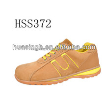 Europe 2015 hot selling various colors light safety sneakers/traines with steel toe