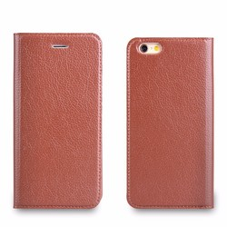 For iphone case Luxury series leather case for iPhone 6 Plus fashion case magnetic leather factory price