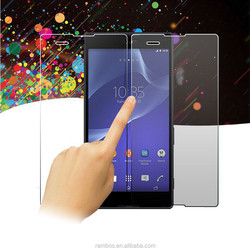 9H 2.5D Protective Phone Screen Shield Tempered Glass Transparent Screen Protector for Sony Xpeia Z4