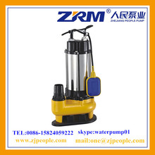 STAINLESS STEEL FLOAT SWITCH SUBMERSIBLE SEWAGE PUMP V750F-B
