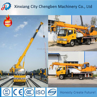 Lifting Equipment Used Log Service Truck With Crane For Sale