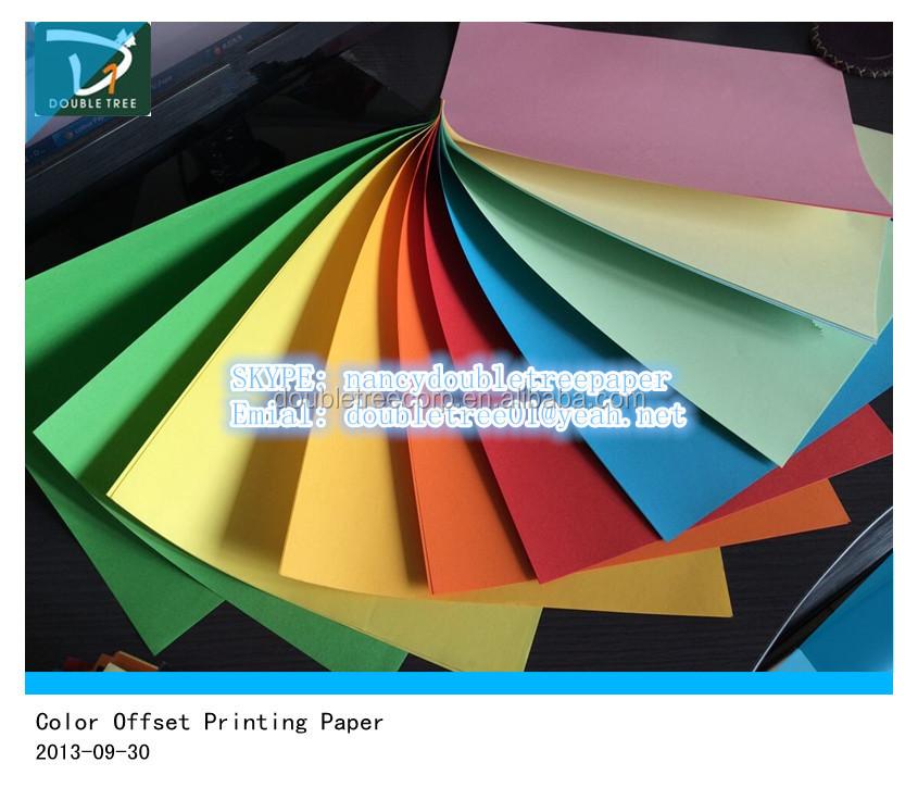 Blanc couleur et copie type de papier sans bois non couch for Papier imprimante autocollant exterieur