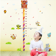 Kids Height Measurement Wall Sticker Growth Chart