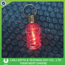 Reasonable price Acrylic Energy-saving Lamp Led Keychain Promotional Gift