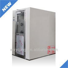 YJ-S-2FC Full Set Cold Rolled Steel Air Shower,for food,medical etc