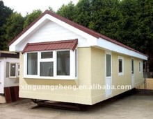Steel prefabricated beach prefab house/ movable container home with CE & ISO9001/homes 304
