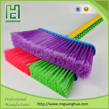 Low price plastic broom, plastic broom with handle