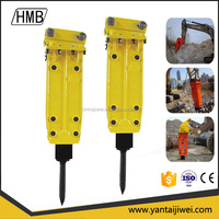 Hot sale hydraulic breaker jack hammer for excavator rock drill hammer