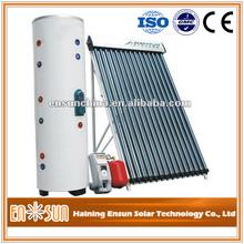 Calentador de agua casero solar con sistema separado