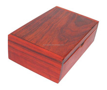 New Wooden Trinket Jewlery Storage Box Name Card Holder Hand Carved Rosewood