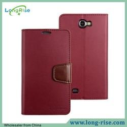 Mercury Goospery Sonata Diary Wallet Flip Leather Case for Samsung Galaxy Note 2