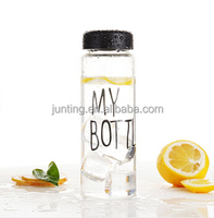 500ml sport branded plastic water bottle