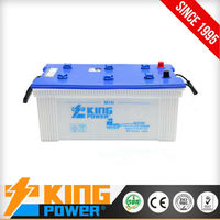 Long life dry charged battery for truck and bus N200