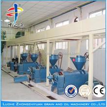 5T/24H Peanuts oil press/ Refine crude oil machine /olive oil squeeze machine