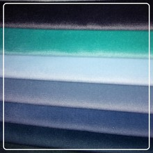 100% polyester warp knitted velvet fabric for sofa/suit