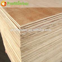 China fábrica de tablero de madera de haya/cherry/de melamina de madera de teca marina okume chapa de madera contrachapada