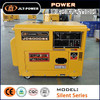 Large discount for wholesale customer! Household portable genset 5kw silent diesel genset