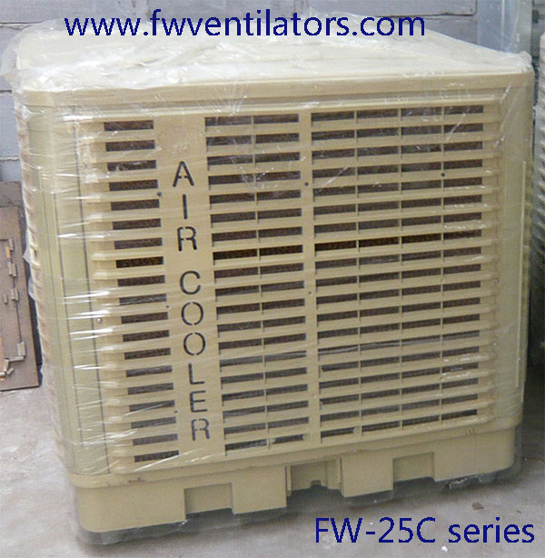 Swamp Cooler Design : Factory rooftop evaporative cooler keep cooling and