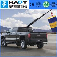 Hydraulic knuckle boom mini pickup truck crane of 800kg 1000kg 1300kg and 1800kg
