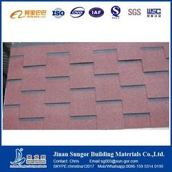 Colorful Best Quality Architectural Decorative Fiberglass Asphalt Roof Shingles