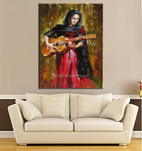 ideas for painting modern paintings oil painting black nude music instrument instrumental wall decor classic paintings