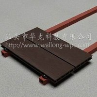 wood plastic composite joist used in installation