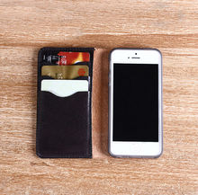 100% Italian Genuine leather case for iphone 5 leather case with credit card holder DHL FREE SHIPPING