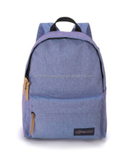 XZH 600D polyester day backpack school bag guangzhou