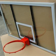 High Strength steel frame tempered glass Basketball Backboard