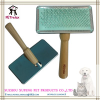 (L) PR80033-1 multi-functional and multi-color soft rubber dog brush with four size models to export