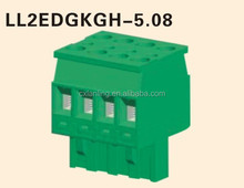 5.08mm terminal block connector plug in type female