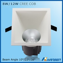 High quality 5730c ree cob 12w glass led ceiling light led ring light livarno lux led