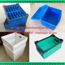 household corrugated plastics waste bin