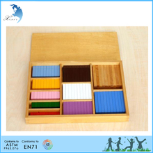 Hot selling CE certificated school kids counting training wooden toys