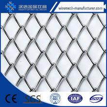 Cascade Coil Drapery's flexible round weave wire fabrics/Architectural Metal Drapery