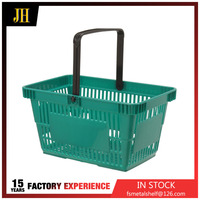 Single handle cute and durable shopping basket