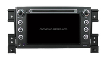 Android 4.4 for suzuki grand vitara 2 din 7 inch car dvd player with radio bluetooth TV 2011