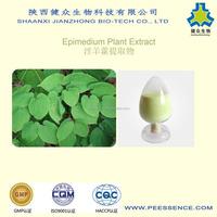 Natural Herb Icariin 10%-98% Epimedium Extract for Men's Sex Enhancement Product