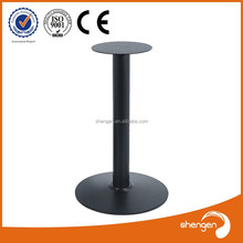 Cross Cast Iron Assembled Table Legs dining room table base