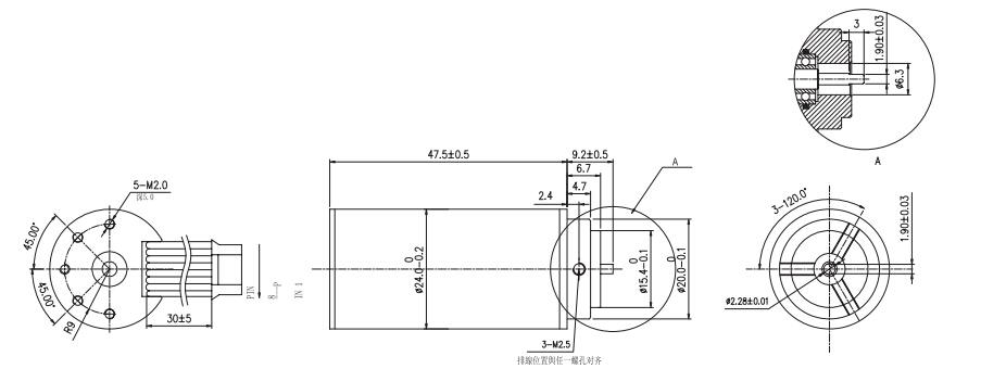 for Gas pump12v dc motor high torque 1500rpm