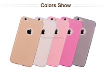 Mobile Phone Ultra Thin TPU Soft transparent Cover for iPhone 6/6 Plus