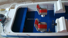 5.0m aluminum side console boat with outboard engine