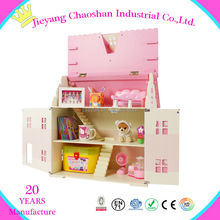 Wholesale house model house designs wooden doll house