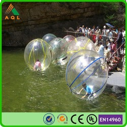 Giant inflatable clear ball/ water walking ball cheap/ color water walking ball