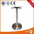 Láser de corte de acero inoxidable pata de la mesa granito ronda glass top bases de mesa