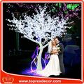 Árvores de cristal do casamento flor artificial por atacado