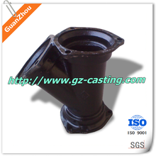 2015 Cheap Price China Foundry OEM Custom Made Grey Iron Casting Parts Y Pipe Fitting For Drainage Systerm
